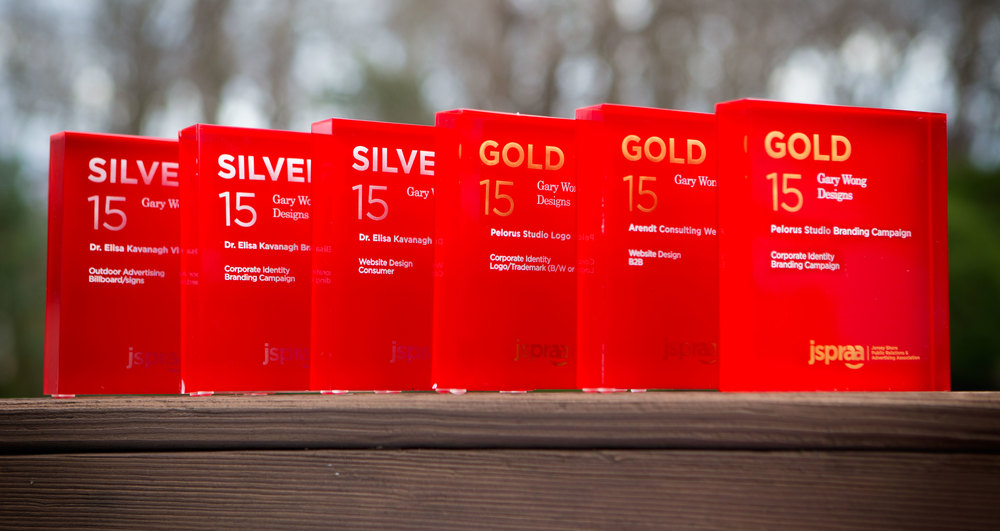 Three Gold and three Silver awards