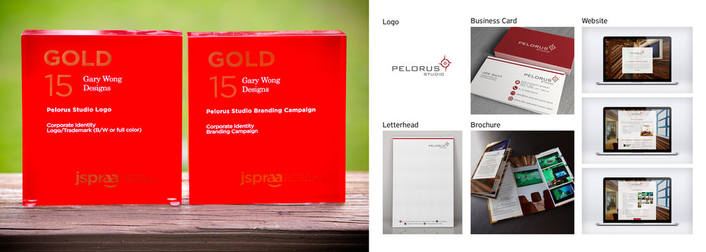 Client: Pelorus Studio Categories: Corporate Identity–Logo/Trademark; Corporate Identity–Branding Campaign