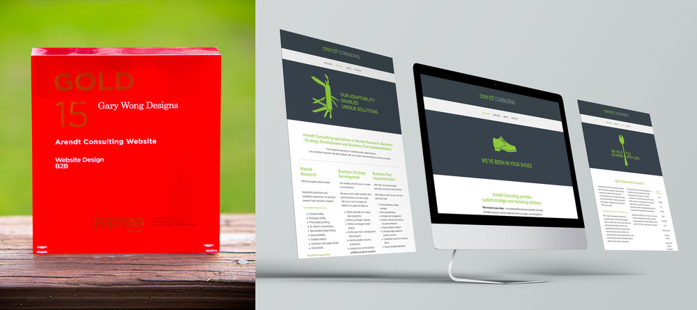 Client: Arendt Consulting Category: Website Design–B2B