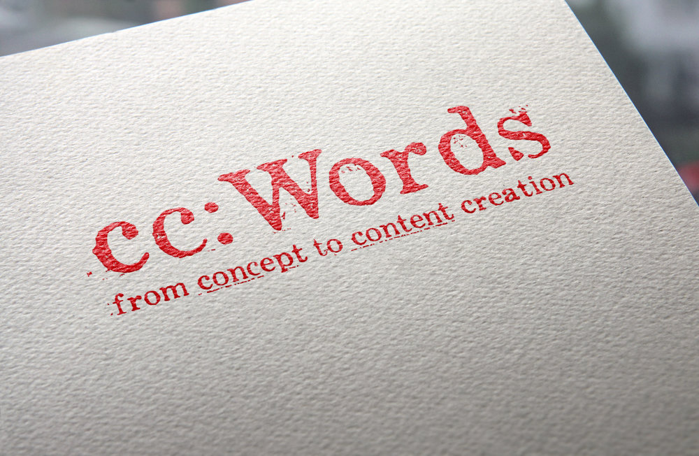Client: cc: Words Category: Identity: Logo, B2B