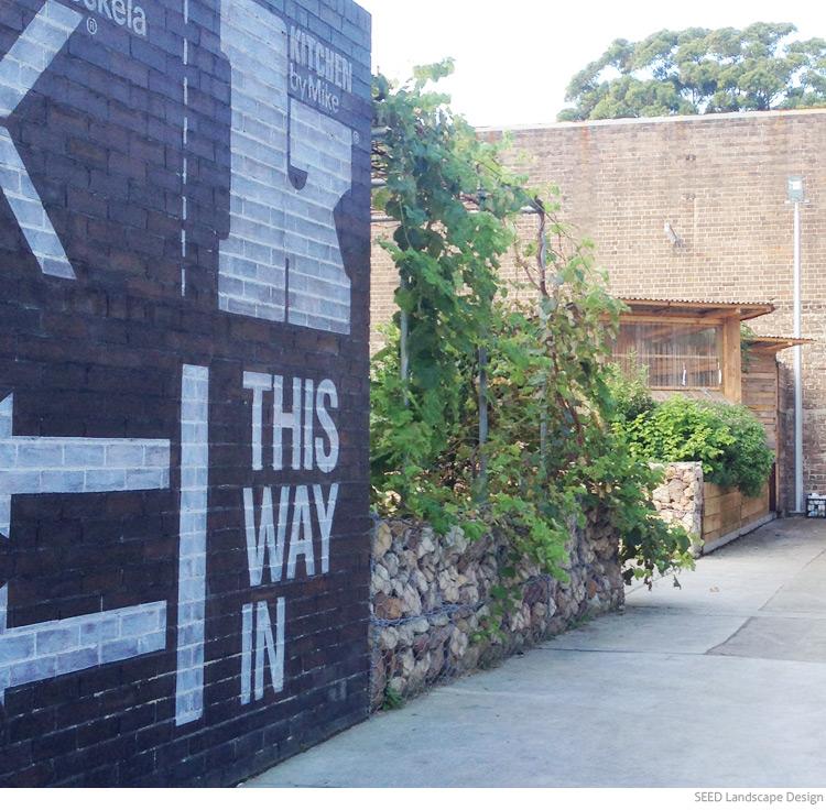 Gabion Retaining Wall Design : Gabion Walls in landscape design — SEED Landscape Design