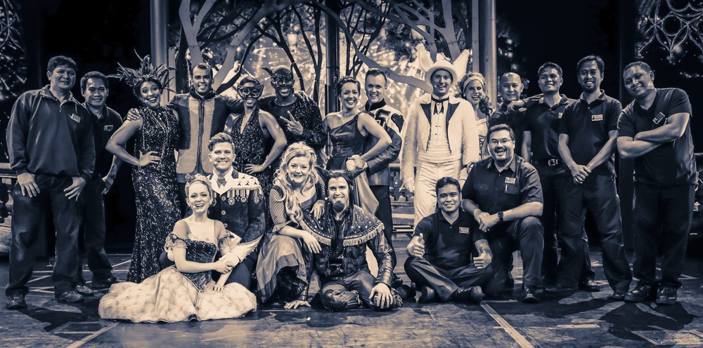 The cast and crew of Ever After.