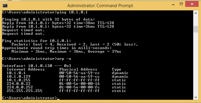 For MiTM (Man in the middle) atacks, we first take note of the mac and IP adress of the client and server.