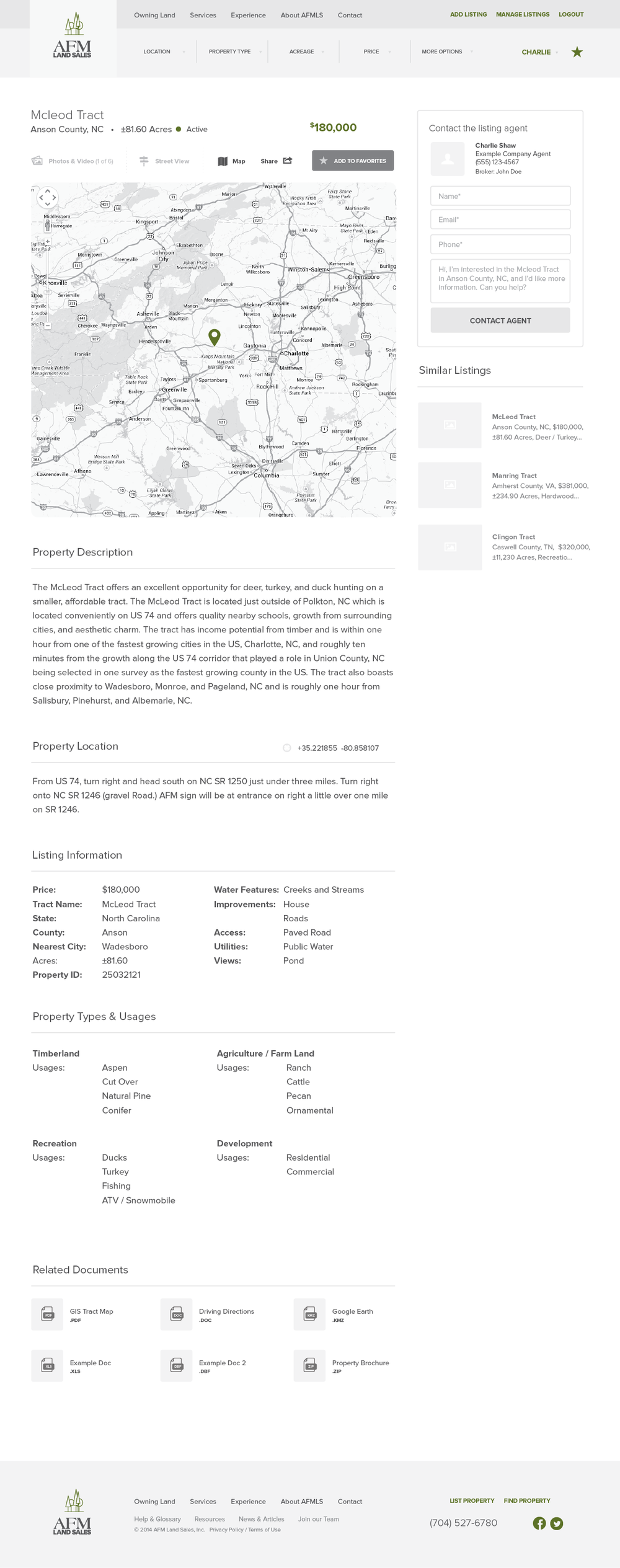 AFMLandSales-Wireframes_Signed In - Listing Page - Location Detail - Maps.png
