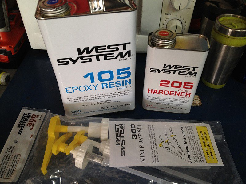 2012-07-20 West System 105 205 epoxy.jpg
