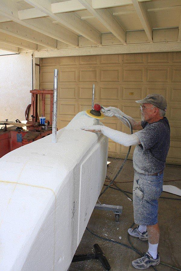 2012-07-26 04 body tooling sanding canopy area.jpg