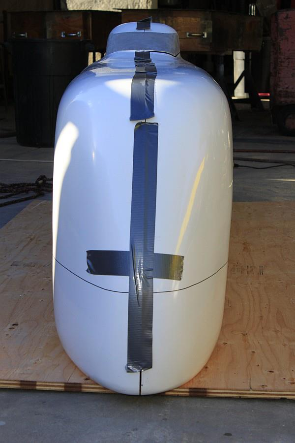 2012-09-02 19 streamliner body taped together.jpg