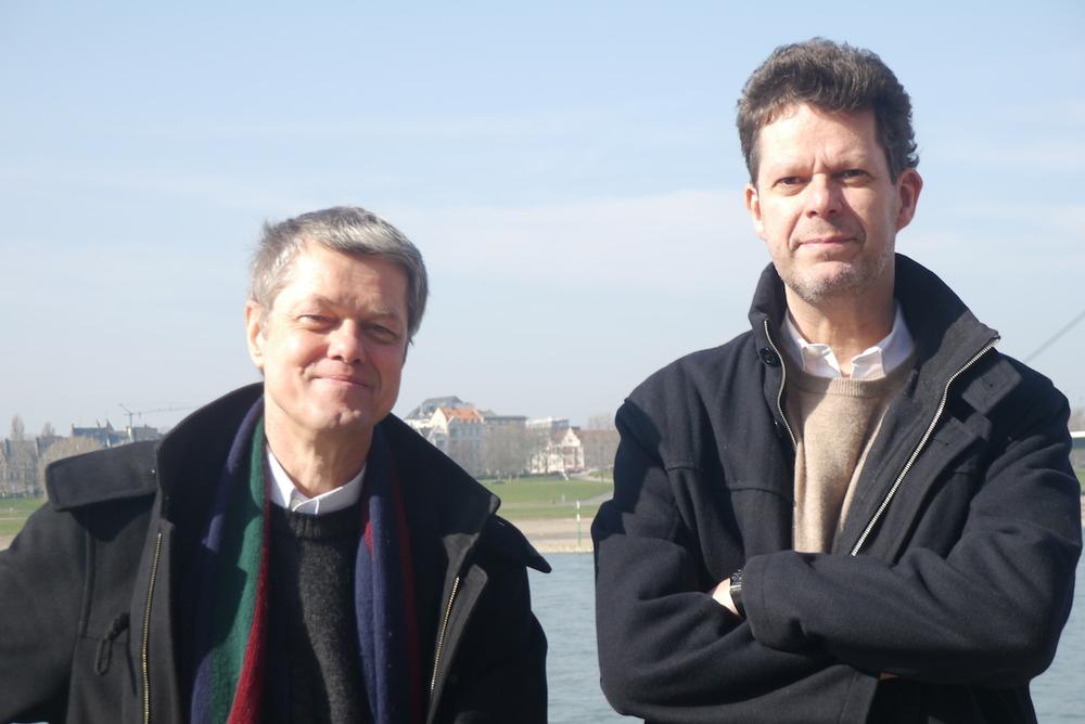 Georg Biskupek und Martin Fratz