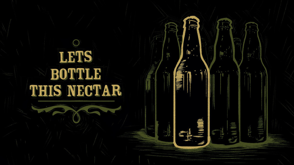 Lets bottle this nectar Title Card