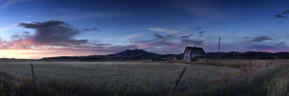 "CLICK TO ENLARGE: ""Homestead"" - Bozeman, MT"