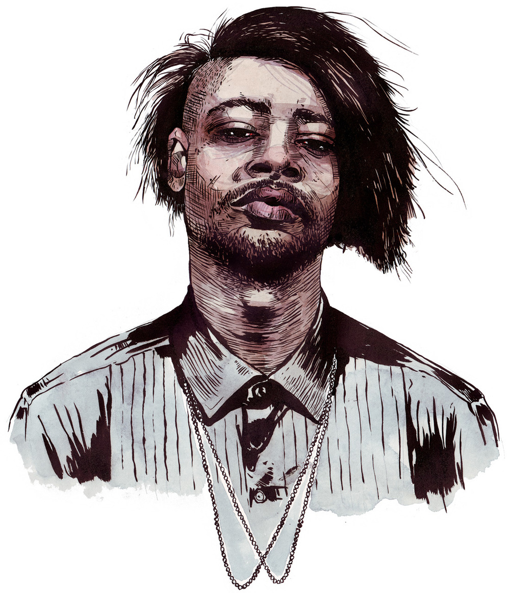 """Danny Brown"" by Leigh Cox"