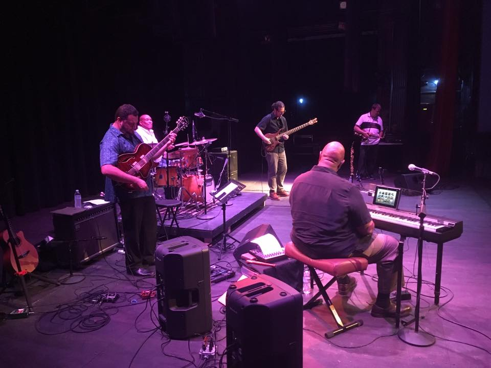 Bob Thompson Band at Peoples Bank Theatre, August 20, 2016. Photo by Sean Parsons.
