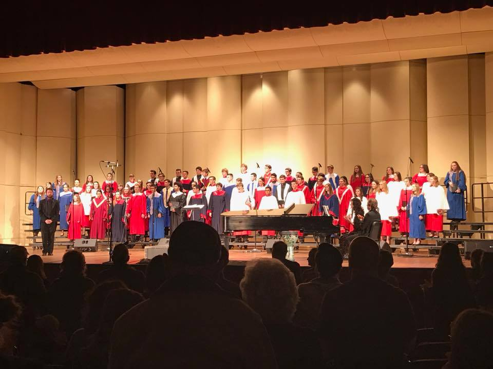 Philip Wilson - Philip sang in the WVACDA High School All State Chamber Choir under the direction of Dr. Marshall Haning at the WVACDA Conference. Only 8 singers are chosen for each voice part in this elite choir.