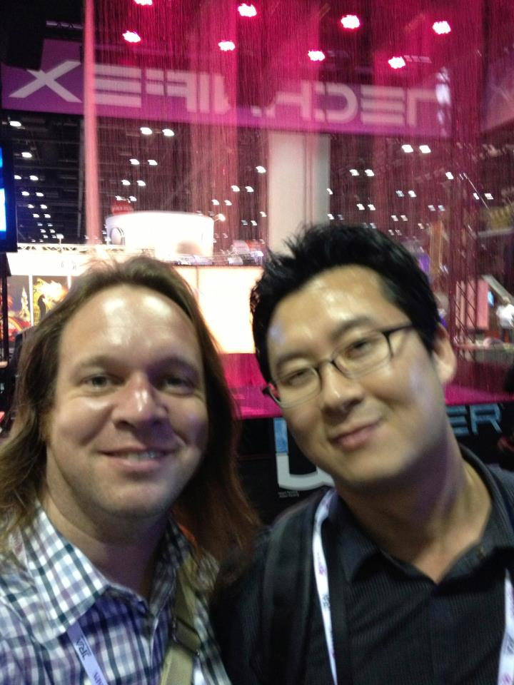 Look who I found! (with Daniel Cho, the Operational and Maintenance Manager at Yeosu Expo 2012)