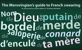 Some of the French words that I've picked up on my travels!