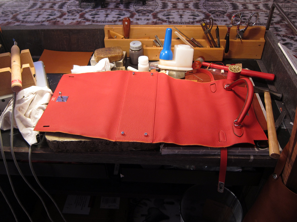 the bag maker 's bench