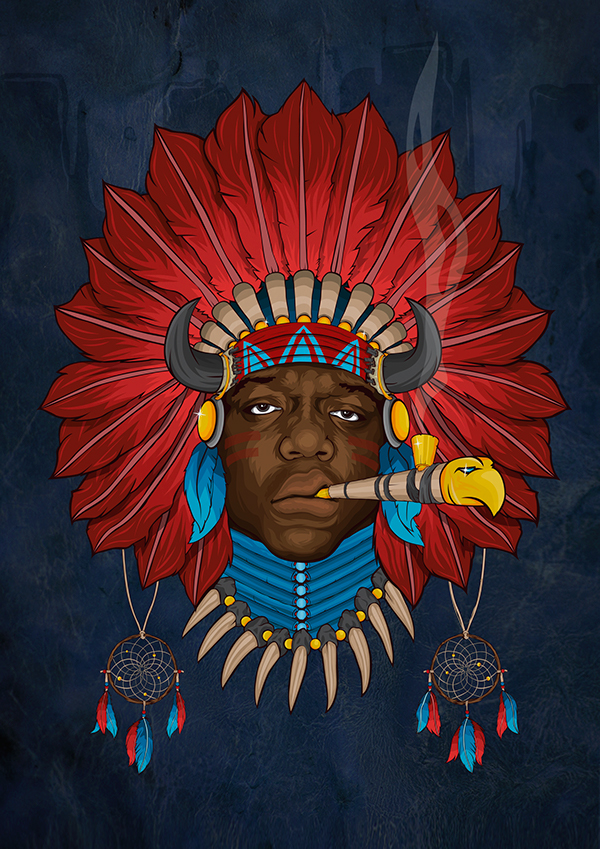 NATIVE BIGGIE ''THE CHIEF''   Nicolas Welty