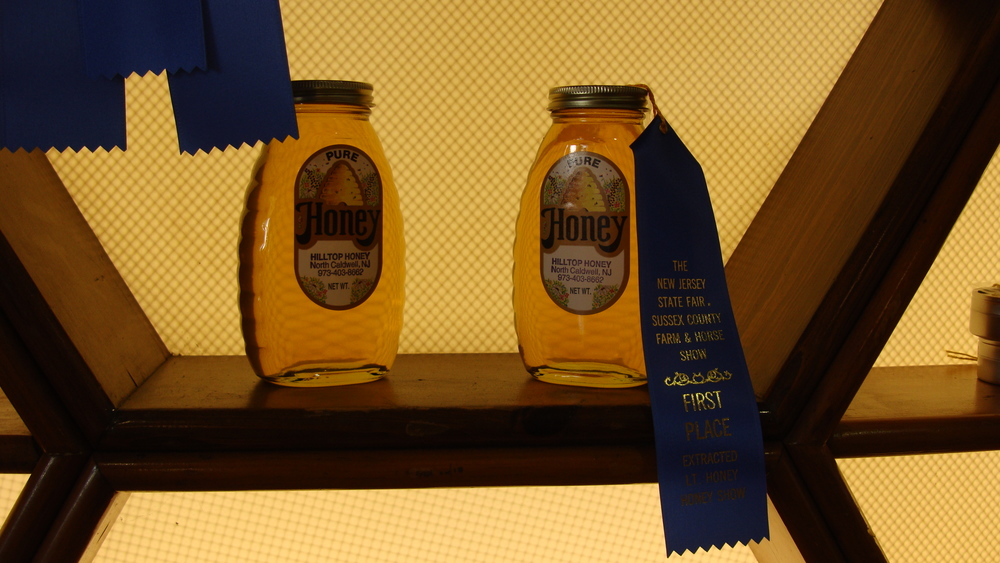 *Bee Bold Honey* 2011 Best in Show and 2012 Best Exhibitor and Blue Ribbon recipient ... NJ State Fair