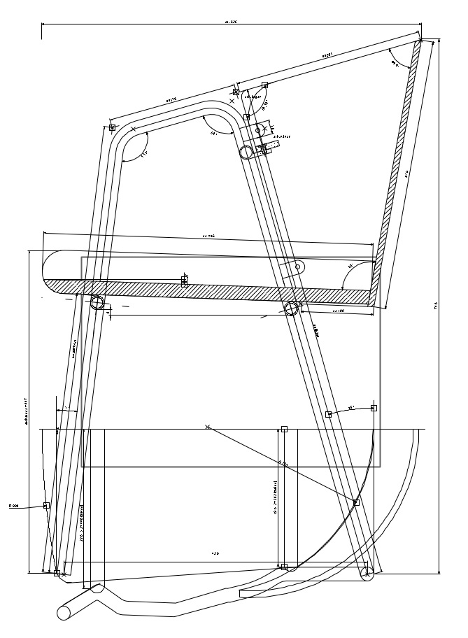 Technical drawing 1 : ! / Smíðateikning 1 : 1