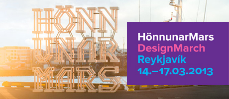 DesignMarch took place in Reykjavik for the 5th time 2013
