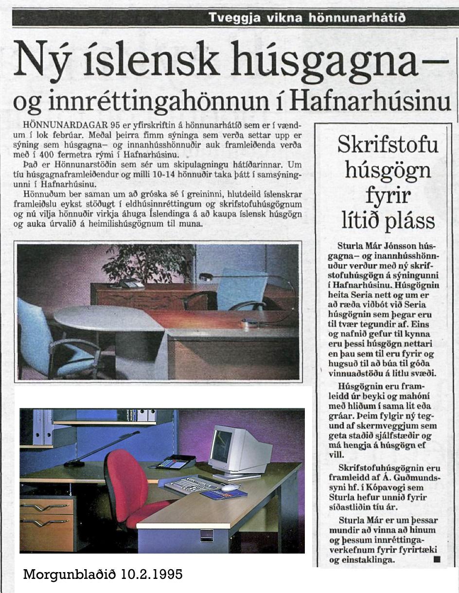Morgunblaðið 10.2.1995