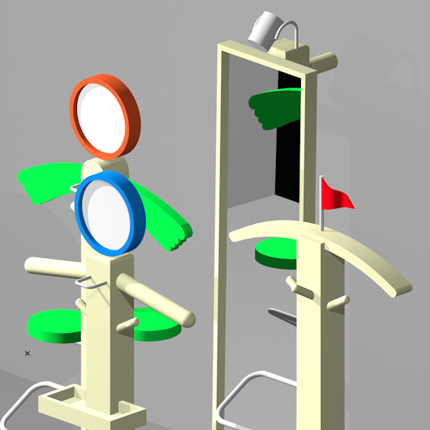 3D working image