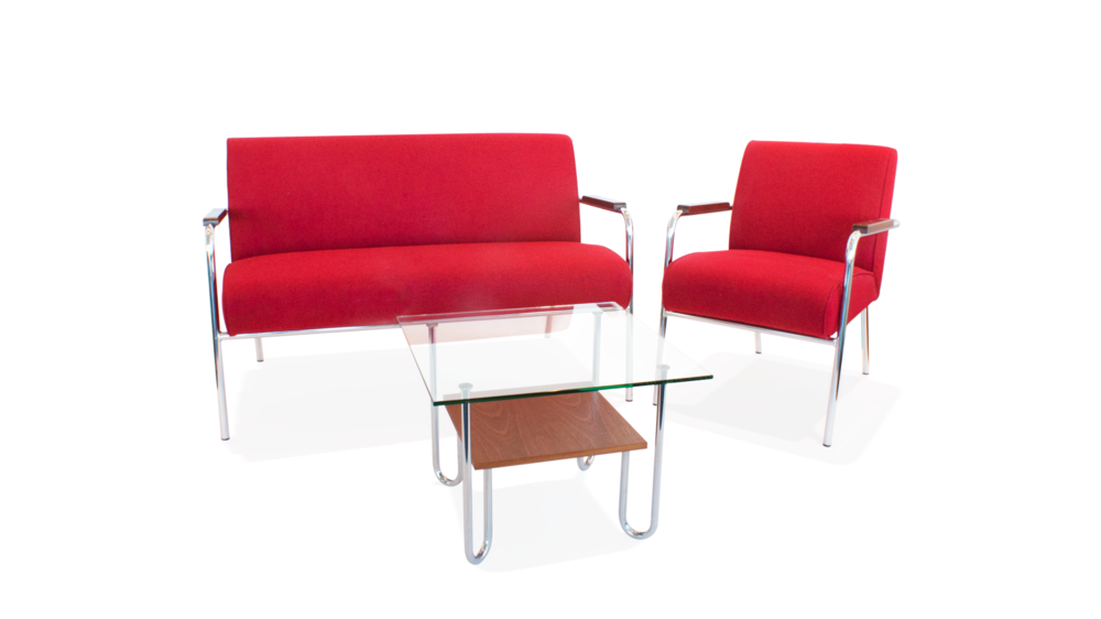 """Venta""  Sofa,chair & table suite /  Sófasett  2013"