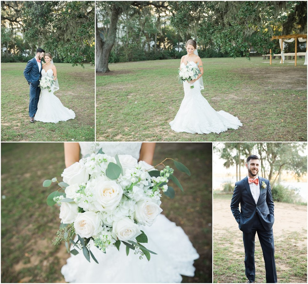 Wedding at Sunnyside Plantation
