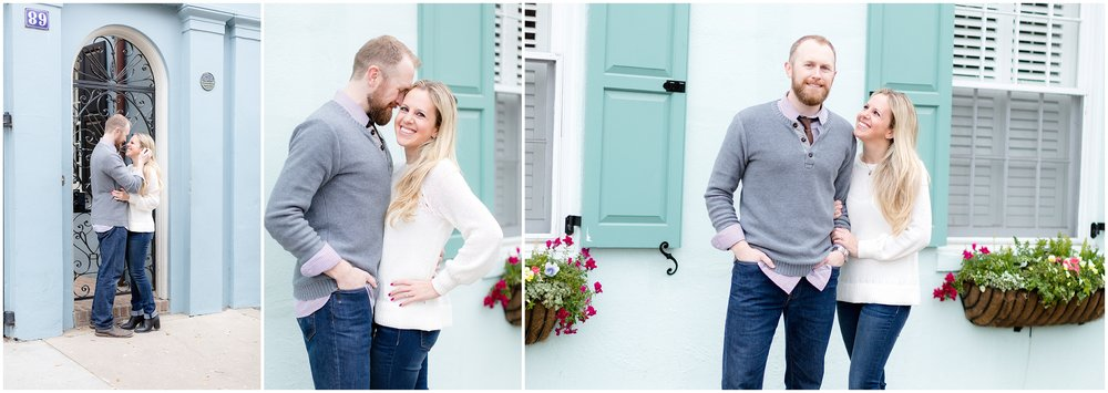 Kendal & Liam's Downtown Charleston Engagement Session