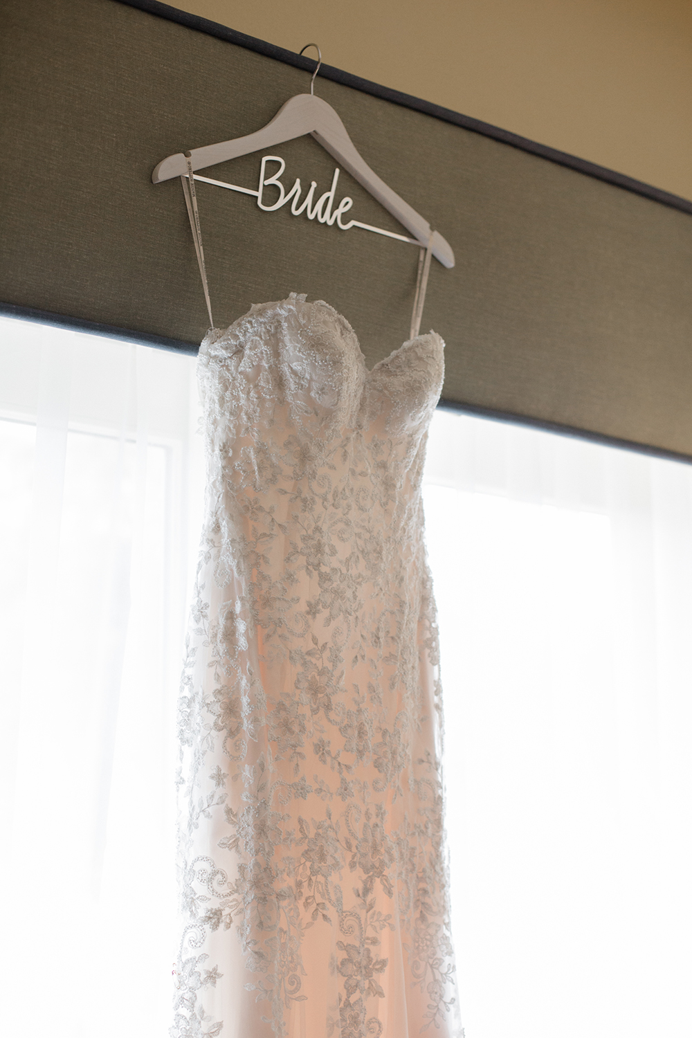 wedding dress photos from a wedding at eagle vines golf club in napa california