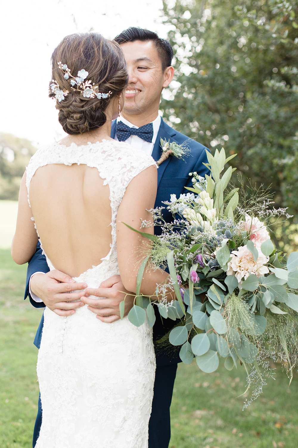 wedding photography of bride and groom at eagle vines golf club in napa california
