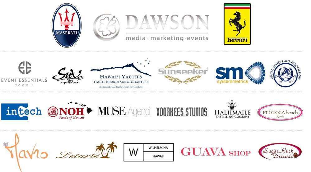 2013 White Party and HPL Magazine Launch sponsors