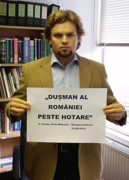 """""""Cei mai mari duşmani ai României peste hotare sunt tot românii""""- Prim Ministru Victor V. Ponta, Eforie Nord - Diaspora Estival, 18.08.2014"""