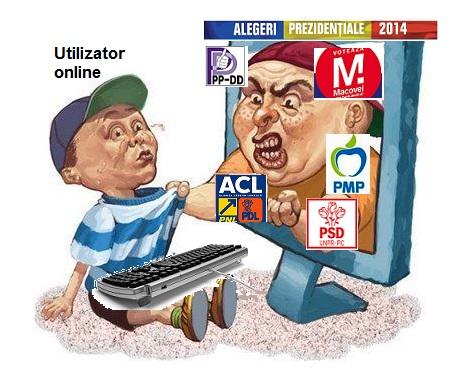 Fanatism politic in mediul online din diaspora
