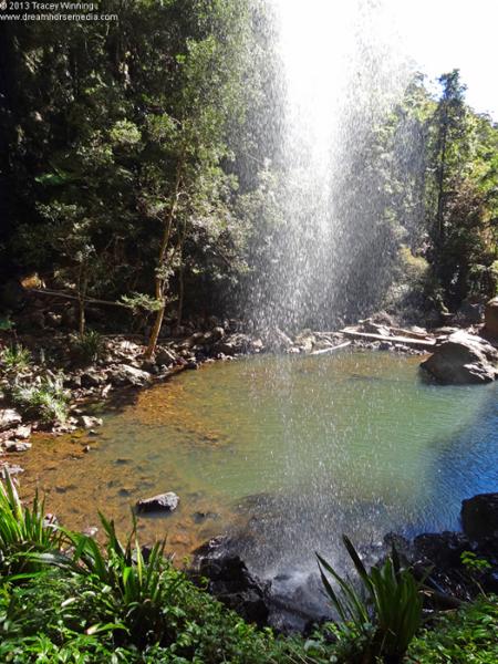 rockpools and waterfalls, Springbrook, Gold Coast,