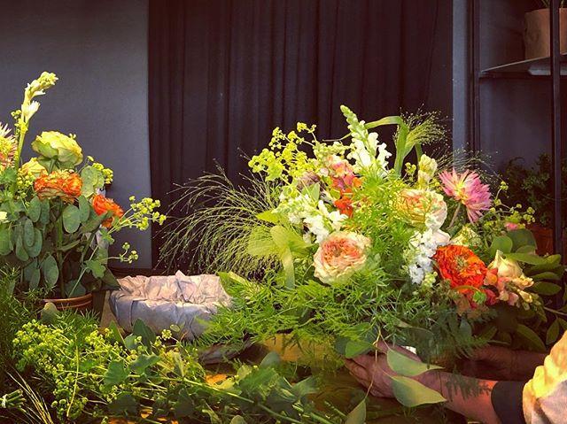 Pasiruošimas vestuvėms #weddingflowers