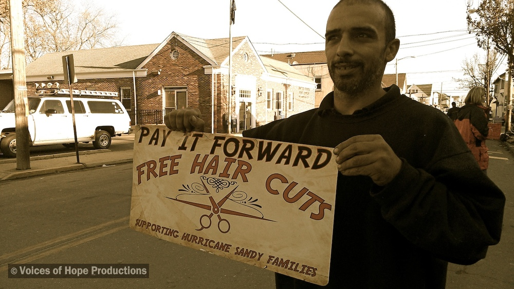 Paying it Forward Haircuts