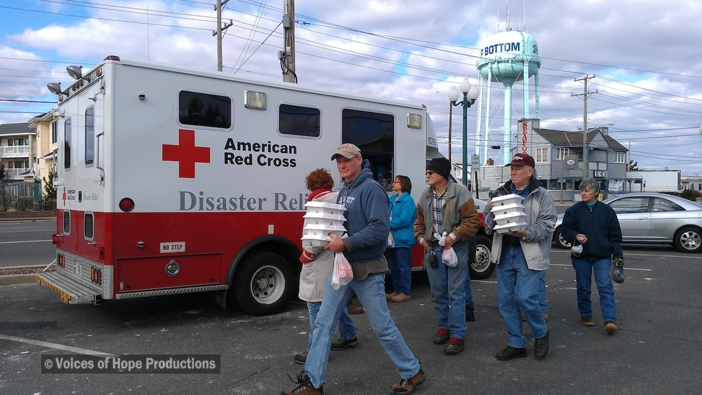 Red Cross Disaster Relief, Ship Bottom, NJ