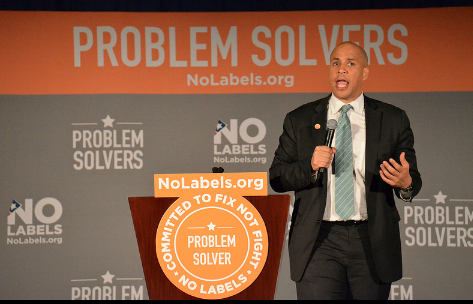 Newark Mayor Corey Booker at the No Labels: Make America Work Conference