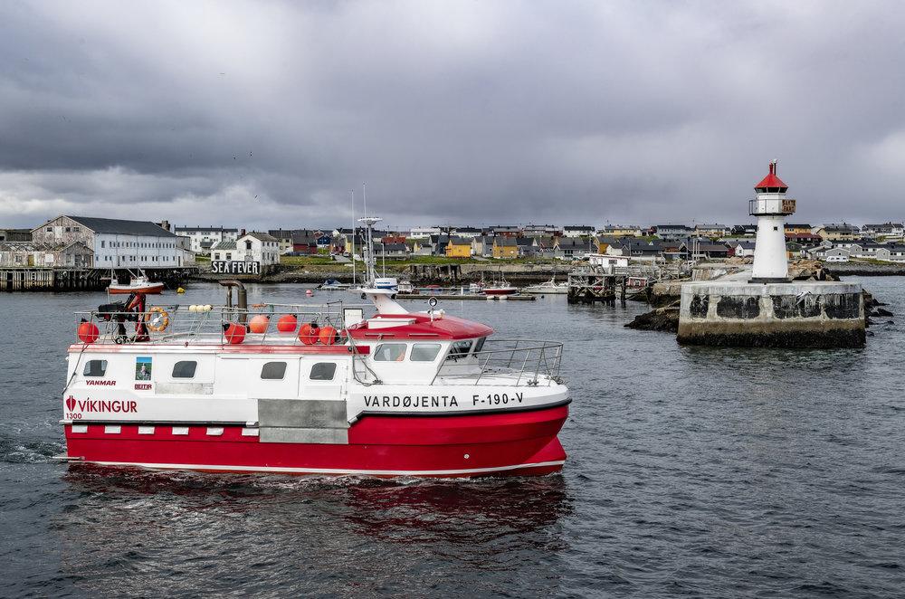 I FAMILIEN: Båter har ofte kvinnenavn. «Vardøjenta» er oppkalt etter datteren Miriam.