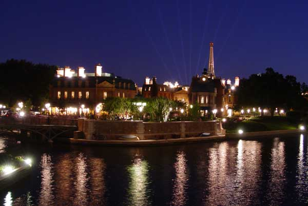 France pavilion at Epcot