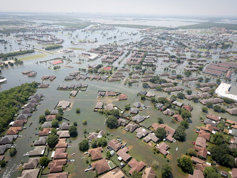 Weight of Water Dropped by Hurricane Harvey Flexed Earth's Crust - Eos Earth and Space Science News
