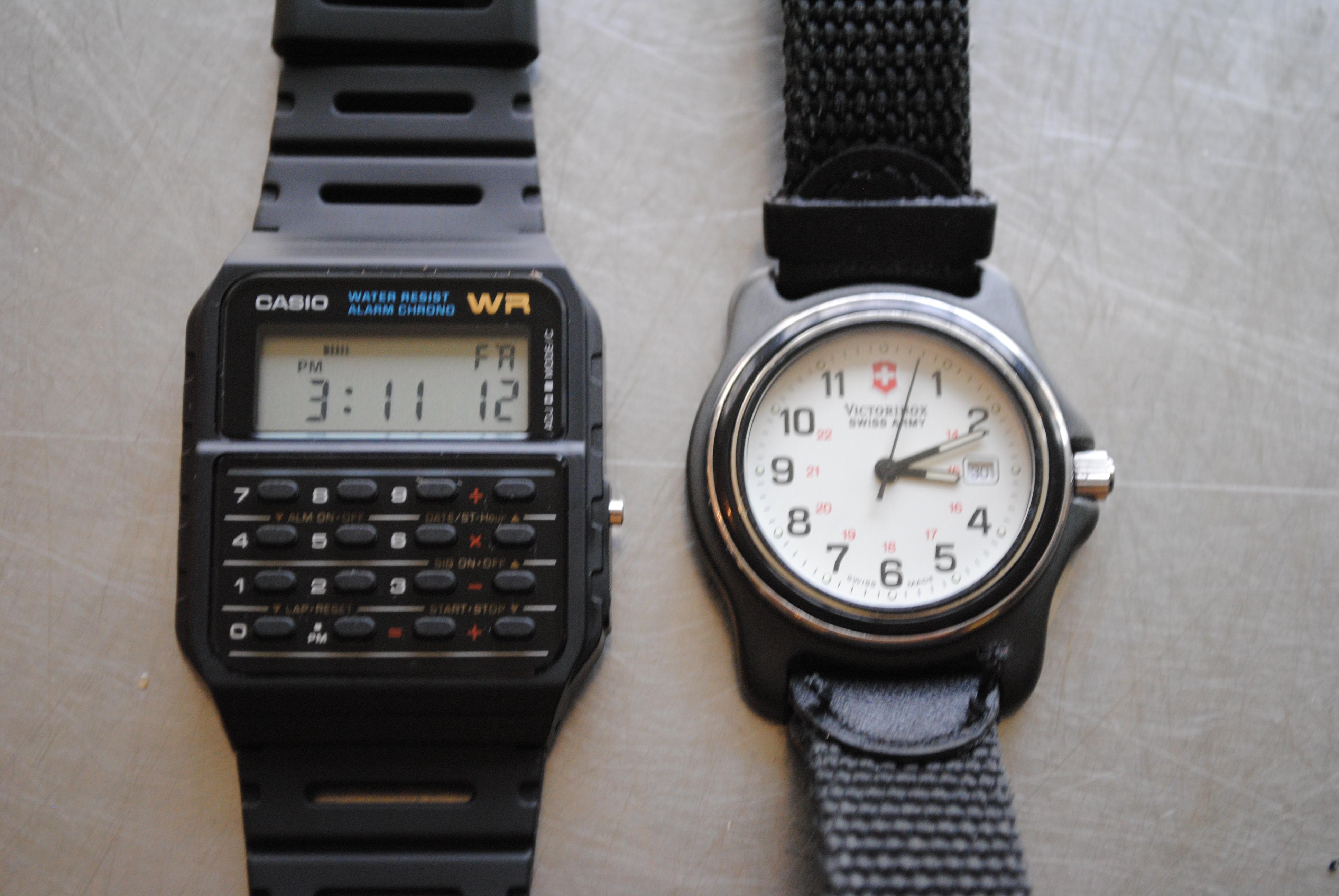 Casio Ca53w 1 Twincept Databank Ani Digi Resin Watch David