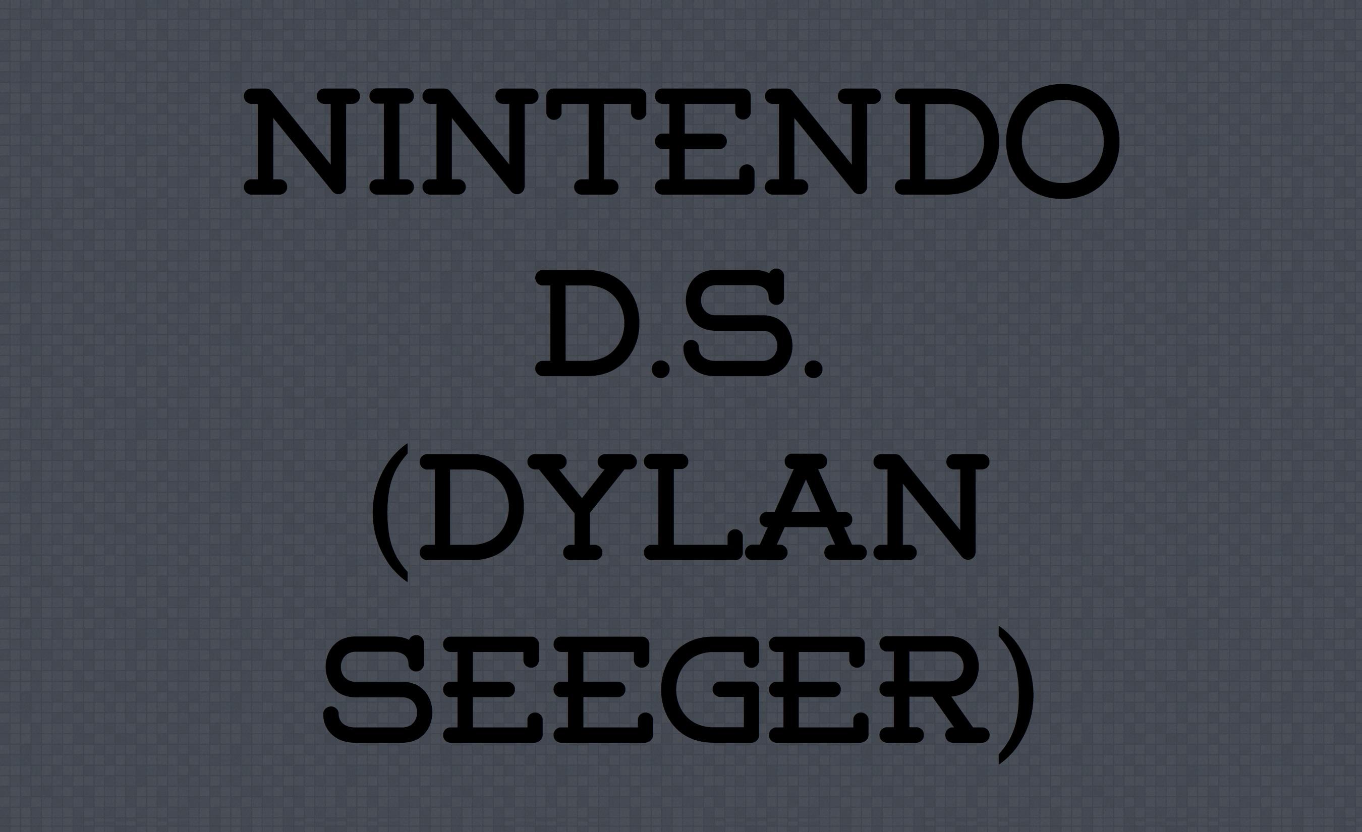 Dylan Seeger Dekstop