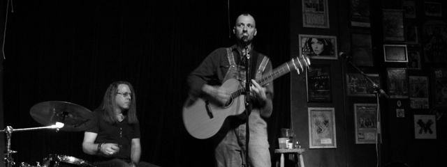 Songwriter's Showcase w/ My Name Is Mark and Witch Dave – January 25, 2013 – Red Light Café