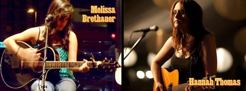Melissa Brethauer and Hannah Thomas – June 22, 2013 – Red Light Café, Atlanta, GA