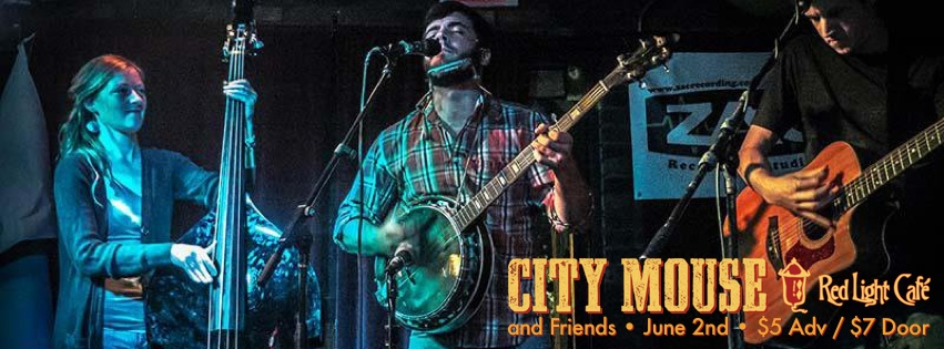 City Mouse and Friends – June 2, 2013 – Red Light Café, Atlanta, GA