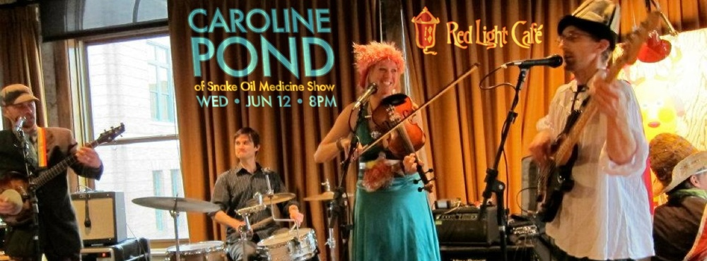 Caroline Pond – June 12, 2013 – Red Light Café, Atlanta, GA