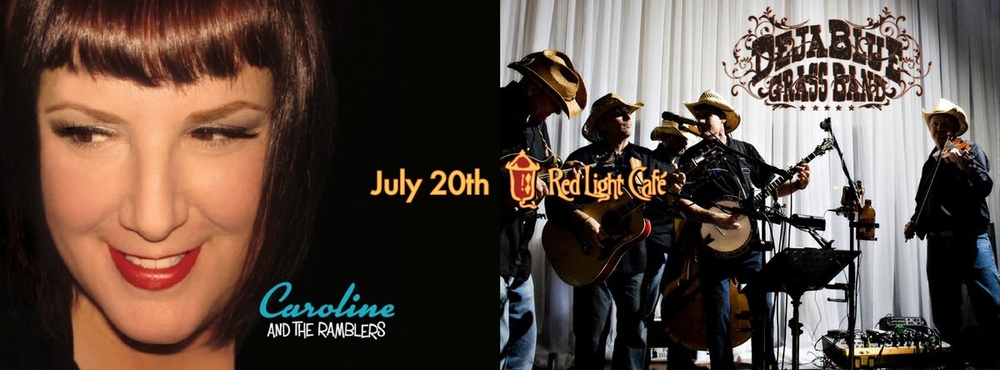 Caroline & the Ramblers and The DejaBlue Grass Band – July 20, 2013 – Red Light Café, Atlanta, GA