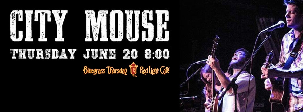 City Mouse – June 20, 2013 – Red Light Café, Atlanta, GA